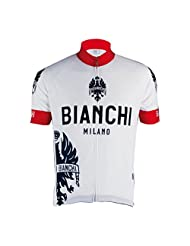 Bianchi Womens Eddi1 Short Sleeve Jersey - White - M
