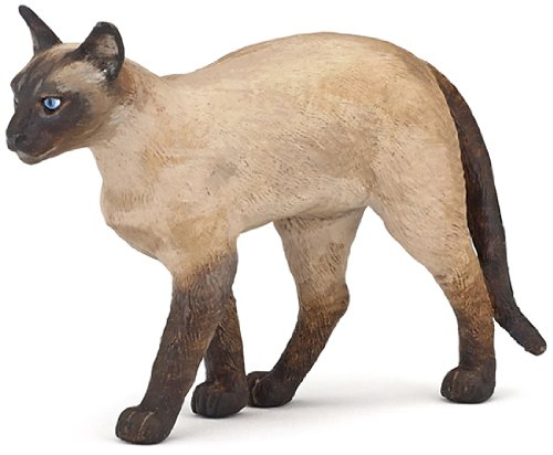 Papo Siamese Cat Toy Figure