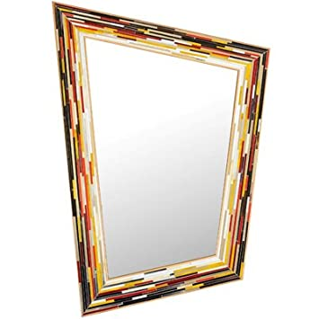 Piaggi Rhombus Mirror Ash (110cm x 77cm)