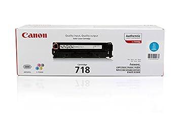 Canon I-Sensys MF 8380 cdw - Original Canon 2661B002 / 718C - Cartouche de Toner Cyan -