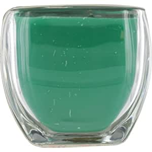 Melon Berry Scented By Melon Berry Scented Tropical Scented 13 Oz 2-Wick Glass Candle. Burns Approx. 60 Hours