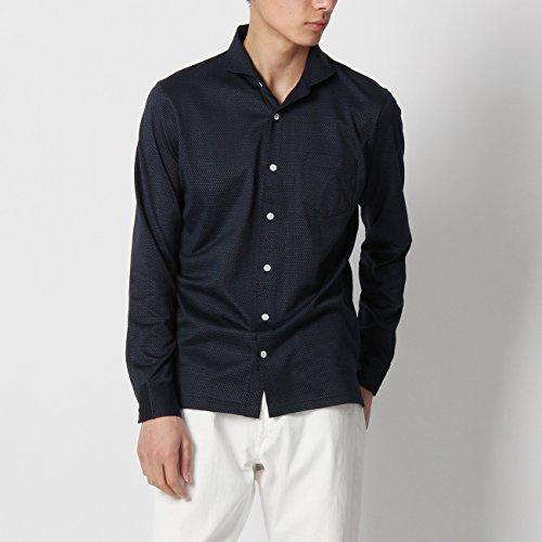 (ボイコット)BOYCOTT マイクロドットジャージシャツ ネイビー(493) 02(M)