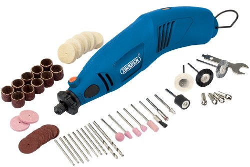 Draper 79340 230-Volt 140-Watt Multitool with 56 Accessories