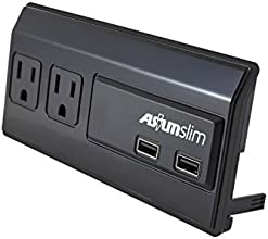 Asium Slim 2 Usb Chargers 5v 1a Shared amp 2 Outlets 15a 120vac 60hz 1800watt Blister