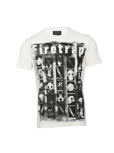 Firetrap Firetrap Bone Xray Printed T-Shirt,