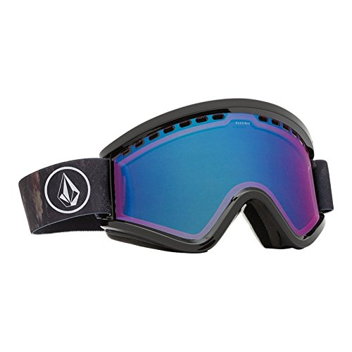 Electric California EGV Adult Goggles (One Size fits All), Volcom Co Lab Frame, Rose/Blue Chrome Lens