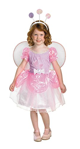 Girls Bugz Lolli Candy Fairy Kids Child Fancy Dress Party Halloween Costume