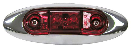 Peterson Manufacturing V168Xr Red Clearance Light Kit