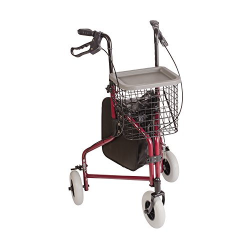 DMI 3-Wheel Folding Aluminum