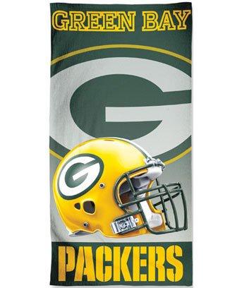 Green Bay Packers Nfl Football Fan Merchandise Beach Towel Pool Bath Brand New