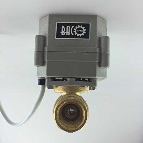 """Bosu Ball Valve Plug: BACOENG 1/2""""-1"""" Motorized Valve/Zone Valve With Plug"""