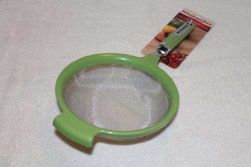 KitchenAid Stainless Steel Mesh 7 inch Strainer (Green Apple) (Kitchenaid Wire Strainer compare prices)