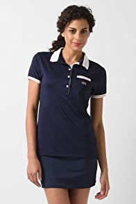Short Sleeve Technical Pique Tipped Polo