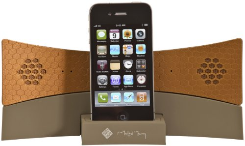Native Union Handset Speaker System with iDock - Taupe Copper images