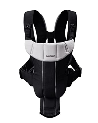 BABYBJORN Baby Carrier Active, Black/Silver