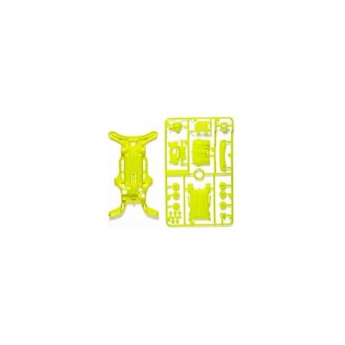 ミニ四駆特別企画商品 AR蛍光カラーシャーシ 黄 95202