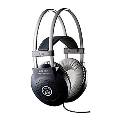 AKG M 80 MKII Over the Ear Headphones