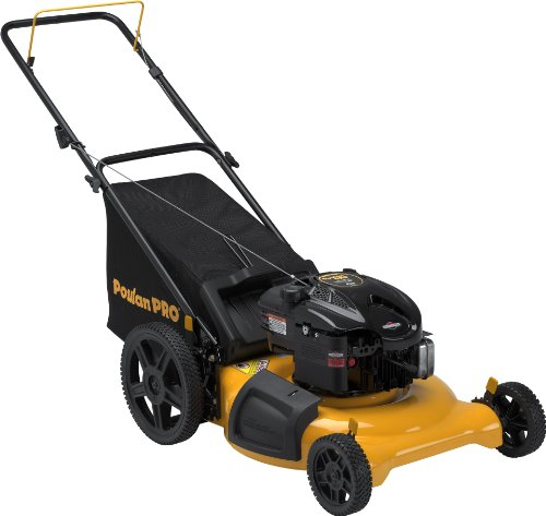 Poulan Pro PR625N21RH3 High-Wheel 3-in-1 Push Mower, 21-Inch