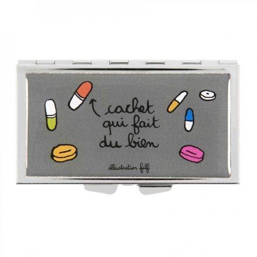 Boîte à Pilules Qui fait du bien Derrière la Porte