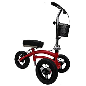 Small Petite Adult Short All Terrain Knee Walker Knee Scooter Crutches