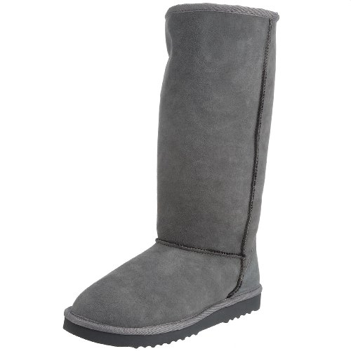 Skechers Women's Spacious Boot Charcoal 46649 CHAR 2 UK
