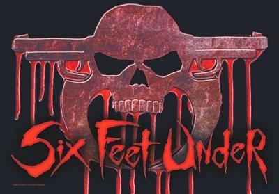 six feet under POSTERFLAGGE