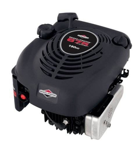 Briggs and Stratton 126M02-1031-F1 190cc 6.75 Gross Torque Engine with a 25-Mil diameter by 3-5/32-Inch Length Crankshaft, Keyway, and 7/16-20-Inch Tapped image