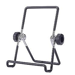 Foldable Tablet Stand, MoKo Universal Adjustable Portable Metal Holder Cradle for 7-8 Inch Tablets, Fit Apple iPad Mini / iPad Mini 4 7.9 Inch, BLACK