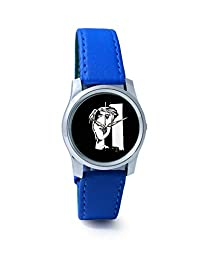 BigOwl The Composed Reality Painting Analog Men's Wrist Watch 2115074536-RS2-S-BLU