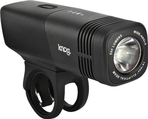 Knog Blinder Arc 5.5 Usb Rechargeable Front Light, Black