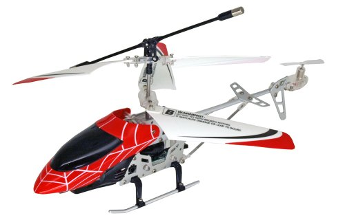 Air Spyder IR Helicopter Red Spiderman Design