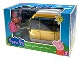 Peppa Pig - Peppa's Giant Campervan Playset - Peppa Pig Large Caravan & 4 Character figures
