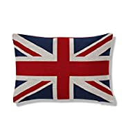 Jacquard Union Jack Cushion
