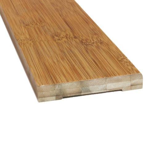Boedika 9-56778 100-percent Bamboo 84-Inch Wall Base Horizontal Grain Carbonized, 2-Pack