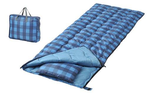 キャンパーズコレクション 寝袋 バッグインバッグ ブルー [最低使用温度15度]