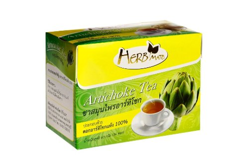 Artichoke Tea Box With 30 Tea Bags For 1 Month Supply