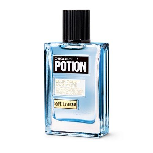 Dsquared, Potion Blue Cadet, Eau de Toilette da uomo con vaporizzatore, 50 ml