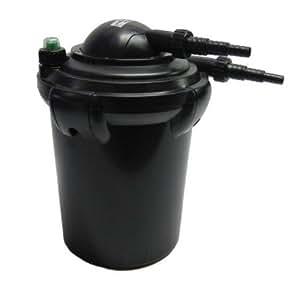 Easypro ecf10u pressurized filter with builtin uv for for Diy pressurized pond filter