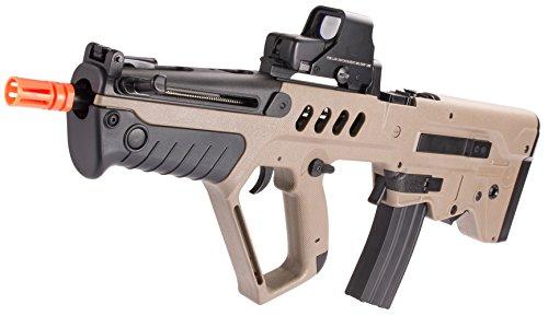 Evike IWI Licensed TAVOR TAR-21 Airsoft AEG Rifle by Umarex w/ Metal Gearbox (Dark Earth / Competition Series) - (39918) (Airsoft Machine Gun Holster compare prices)