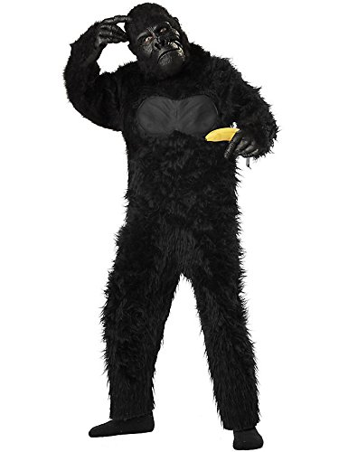 Black Gorilla Suit Kids Costume