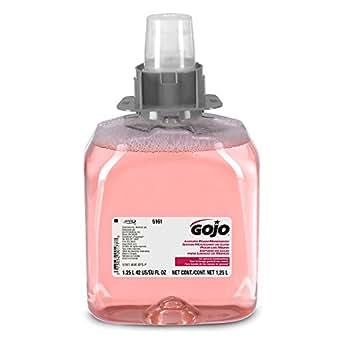 GOJO FMX Refill, 5161-03 - Pink Cranberry Scented Antibacterial Handwash (1250 mL) - 3 Pack