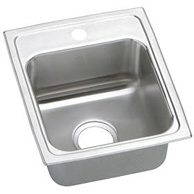 Elkay PSR15171 Gourmet Pacemaker Sink, Stainless Steel