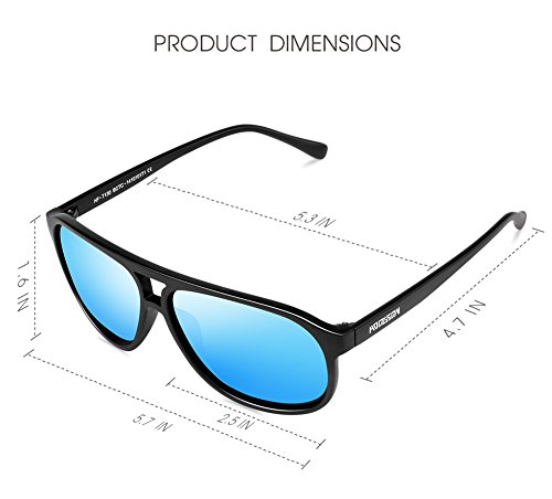 polarized mirrored aviator sunglasses  polarized sunglasses
