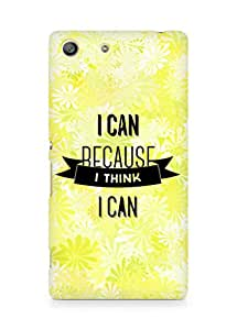 Amez I Can because I Think Back Cover For Sony Xperia M5