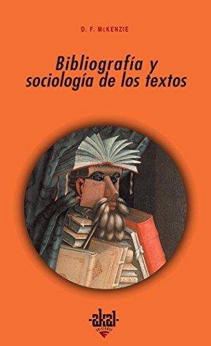 Bibliografía y sociología de los textos (Universitaria)