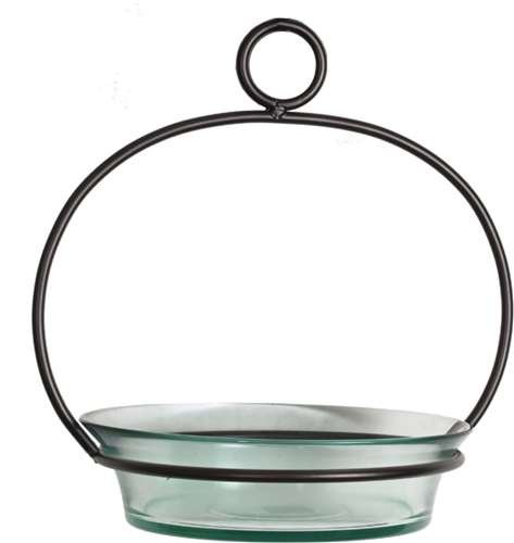 Couronne Co. Clear Cuban Bowl Birdbath COURM33720000