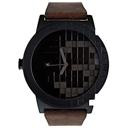TACS Pixel Analog Brown Dial Unisex Watch -TS1302B