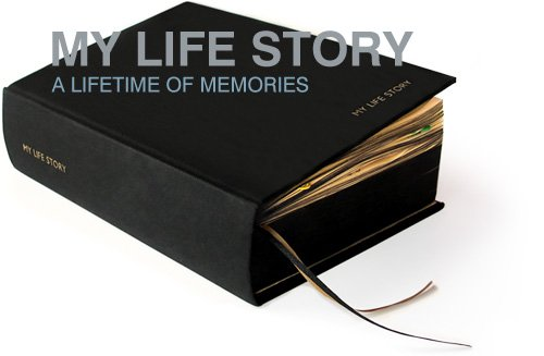 My Life Story - Black 100 Year Diary - Suck UK
