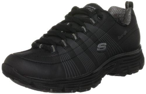 Tone-Ups Fitness Women's Ready Set - Jet Black/Charcoal Training Shoes 11755 2 UK