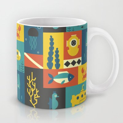 Society6 - Under The Sea Coffee Mug By Ariel Wilson